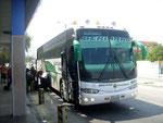 """Ein moderner Reisebus mit dem """"Stern"""""""