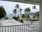Blick auf den Strand von Rodadero