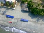 Rodadero aus der Luft aus einem Parapente (Motorgleitschirm) Danke Aturo und Dario