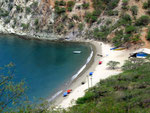 Die Playa Inca in der Naehe von Rodadero