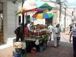 Frisches Obst in der Altstadt