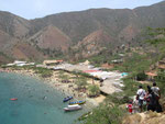 Blick vom Fussweg auf die Playa Grande