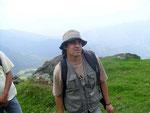 Juan Fernando Alzate, Biologe, spezialisiert auf Vögel und deren Lebensräume