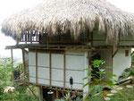 Ein Ecohab in Minca mit Blick auf Santa Marta