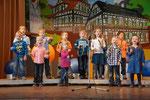 Auftritt des Kinder- und Jugendchors beim Brunch