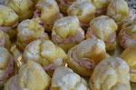 Windbeutelchen mit Himbeer-Rahm