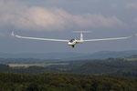 Landung der DG 1000