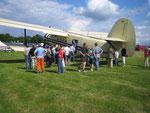 Rundflug mit der Antonov An-2 D-FAIR