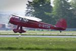 Die C-165 bei der Landung