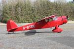Im Gegensatz zu späteren Cessnas besitzt die Airmaster einen Holzrumpf