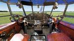 Cockpit der Antonov An-2 D-FAIR