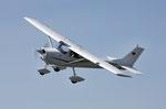 Auch die Cessna 150 ist schon ein Klassiker
