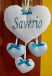 """capoculla cuore """"Saverio"""""""