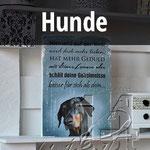 Holzbilder mit Hunden, Hundebilder, Hundespruch, Hundefreunde