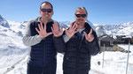 """Niklaus und Marcel zusammen seit 17 Jahren musikalisch """"ungerwägs""""..."""