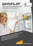 Winflip - automatischer Fensterschließer ohne Stromanschluss