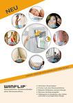 WINFLIP Comfort vollintegriert im Neufenster