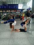 Am Frankfurter Flughafen
