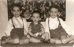Chile 1961 Octavio, Francisco & Eduardo Valenzuela