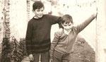 Maipu Chile 1968 con mi Hermano Eduardo