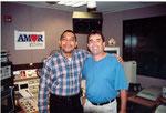 Efrain Garcia - Francisco Valenzuela  Radio Amor 107.5 Miami - USA