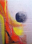 erster Versuch mit Kreiden 30x40cm 2012 Pastell auf Pappe