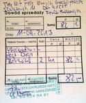 Rechnung Drops und Borowik