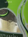 Hochzeitskerze, ovale Fischform mit Blätterranke, Detail