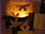 Hochzeits-Gesamt-Paket: Tischbeleuchtung, Tischkarten, Menü-Säulen
