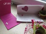 Kommunion, Einladungs- und Dankeskarte, Innenansicht