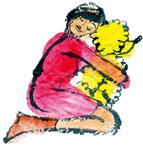 戌 : Watercolor Paper