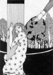 ロマンティックな詩情 : Pen Paper(160×115mm) 2011
