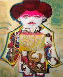 舞妓  1968    リトグラフ・手彩色