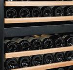 Cave à vins statique avec étagères en bois Montpellier