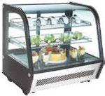 Vitrine à poser réfrigérée 710x575x685 120 litres Montpellier