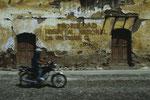 Antigua die Vorzeigestadt hat auch verfallenen Häuser