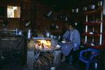 In der Küche der Mayafamilie bei der ich gelebt habe