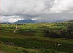 Fruchtbare Gegend, die Inkas wussten schon wo sie siedeln