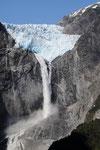 Der Gletscher das Ende des heutigen Ausflugs