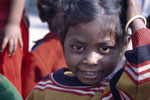 Schülerin im Hope Projekt (Schule in einen Slum)