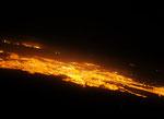 Um 2 Uhr morgens gings weiter und die Sicht auf Arequipa war wunderbar