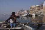 Bootstour in Varanasi