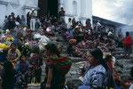 Chichicastenango der bunteste Markt Guatemalas