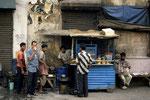 Mein Frühstücksstand in Kolkatta
