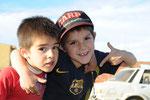 Matthia und Renzo die zwei lieben kleinen Kinder der lieben Familie bei der wir an die 2 Wochen mitgewohnt haben