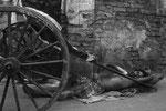 Kolkatta die einzige Stadt mit Fußrickshaws