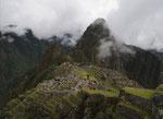 Machu Picchu lange hats gedauert bis sich die Wolken fuer dieses Bild verzogen