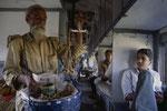 Von Kolkatta nach Bombay ca 30. Std im Zug