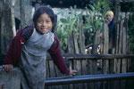 Kleines Mädchen in Todos Santos