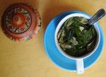 Koka Tee der rettete meinen Kopf oft vor Schmerzen durch die Hoehe